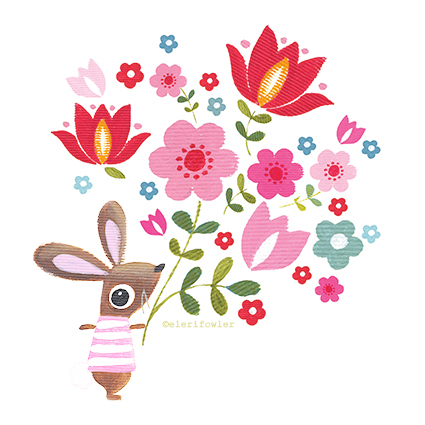 Bunny bouquet – New prints
